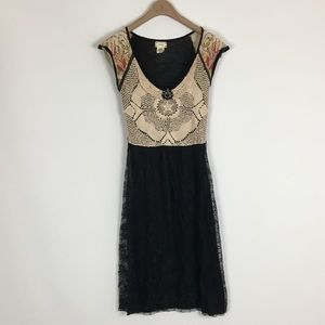 Anthropologie viola cameo dress